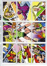 RH Marvel Universe 2011 base set 1-90