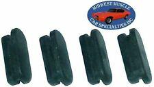 Drum Brake Adjuster Plug Covers Rubber Front Rear Axle GM NOS Quality 4pcs KE