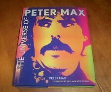 THE UNIVERSE OF PETER MAX Pop Art Artist Artwork Biography Arts Icon Book NEW