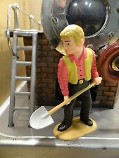 Figur - Arbeiterfigur mit Schaufel. Optimal für Wilesco Dampfmaschine & andere