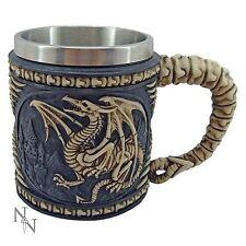 Dragon Skeleton Tankard 10.5cm High Mug Nemesis Now Gothic