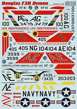 Print Scale 72-105 Decal for Mc.Donnell Douglas F3H Demon 1:72