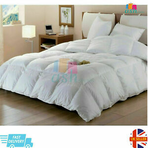 New Duck Feather & Down Duvet / Quilt Bedding , All Sizes & All Tog Available