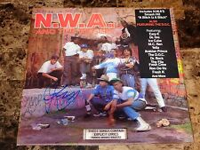 N.W.A. And The Posse Rare Signed Reissue Vinyl Record Rap Yella 3D Cover NWA NEW