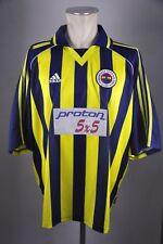 Fenerbahce Trikot Gr XXL Jersey Adidas 1999/2000 proton 5x5 Türkei Shirt vintage