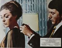 "ORIGINAL 1967 LOBBY CARD 10"" x 8"" - 'THE GRADUATE' - HOFFMAN - BANCROFT - ROSS"