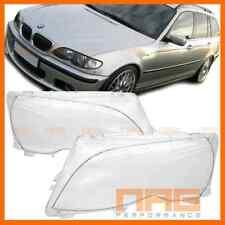 2x VITRE GLACE DE PHARE BMW SERIE 3 E46 TOURING BREAK 01-05 PH2 318D 320D 330D
