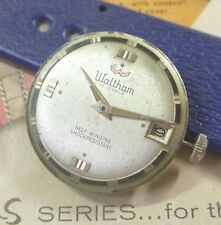 1960s Waltham Gents 17 Jewels Automatic Caliber S-36C w/ Date Japan TICKS! N/R!