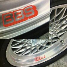 16 X Bbs Aleación Rueda Llanta Coche Vinilo calcomanía auto calcomanías con el logotipo de gráficos