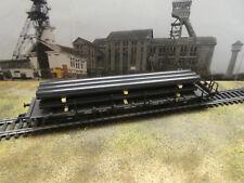 H0 Ladegut neu 6 Stahlrohre schwarz groß z.B. fürRungenwagen  (10)