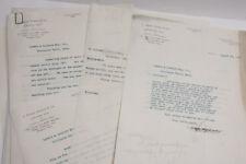 1918 Lamson Goodnow Russel Marble Boston MA Nitric Acid Letter Ephemera - L84H
