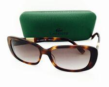 New Authentic Lacoste Sunglasses 749 214 Havana 57•13•140 With Case