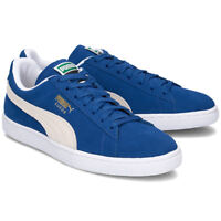Puma Suede Classic Blue Olympian Men's Shoes Size 7.5 to 13 New In Box