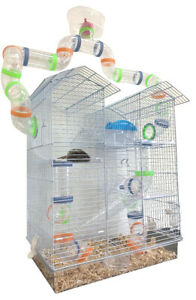 Top Play Zone 5-Story Dwarf Hamster Habitat Rodent Gerbil Rat Mouse Mice Cage