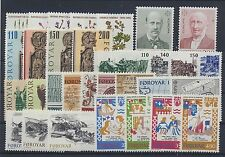 Färöer Jahrgang 1980-82 postfrisch /  in den Hauptnr. kompl. (8332) ............