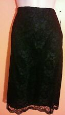 Nwt black lace Willi smith skirt 4