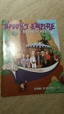 SPOOKY EMPIRE COLLECTOR'S BOOK PROGRAM WILLY WONKA 2015
