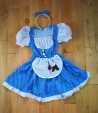 World Book Day Dorothy Costume Age 5-6