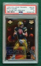 Brett Favre football card graded PSA 9 Mint - 1999 Edge K-Klub Y3K Packers HOF