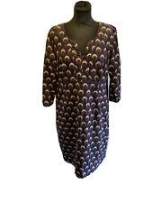 Boden Patterned Needlecord Dress Size 16L
