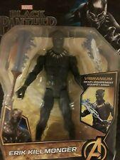 "Marvel Black Panther Erik Killmonger (Vibranium Gear) 6"" inch Action Figure"