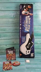 🔥Playstation 2 RedOctane Wireless Guitar #95025 Bundle W/ Dongle In Box🔥