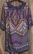 Women's Bebop Multicolored/Design Long Blouse/Dress XL
