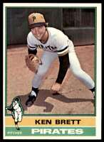 1976 Topps Ken Brett Pittsburgh Pirates #401