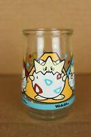 Vintage 1999 Pokemon Togepi Gotta Catch 'Em All Welch's Grape Jelly Empty Jar