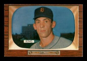 1955 Bowman Set Break #133 Charles King NM *OBGcards*