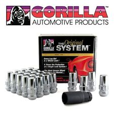 Gorilla The System 24 Wheel Locks Lug Nuts & Key Chrome 14x1.5 Bulge Acorn