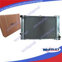 Aluminum radiator for PORSCHE 944 2.5L TURBO / S2 3.0L 1986-1991 manual 1988