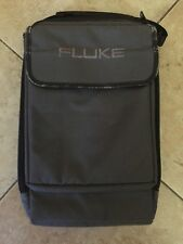 Genuine Fluke Soft Padded Carrying Case Pouch Multimeter Current Voltage Tester