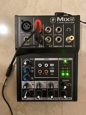 Mackie Mix5 5-Channel Mixer + Power Supply + Accessories. 100% Functional