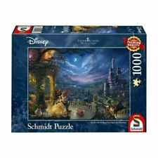 Schmidt Thomas Kinkade Disney The Beauty And the Beast Jigsaw Puzzle - 1000 Pieces