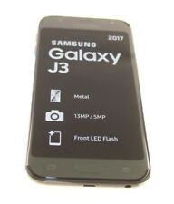 SAMSUNG GALAXY J3 BLACK UK MOBILE PHONE 13 MP UNLOCKED NEW GENUINE