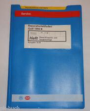 Werkstatthandbuch VW Golf III / Vento Diesel Einspritzanlage Vorglühanlage 1991