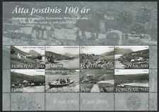 Faroe Islands 2003 Post Office Centenaries Mini Sheet SG MS458 MNH / UNM