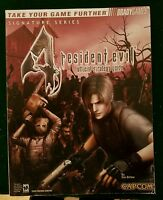 RESIDENT EVIL OFFICIAL STRATEGY GUIDE FOR NINTENDO GAMECUBE CAPCOM BRADY GAMES W