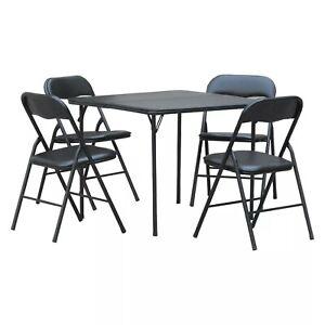 5pc Folding Table Set- Plastic Dev Group