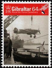 WWII RAF Hawker SEA HURRICANE Mk.I Fighter Aircraft Stamp (2018 Gibraltar)