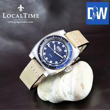 1970's MONVIS [Dux SA/N. Praz/Ipo SA] Ref. 1156 20ATM Diver Watch ETA Cal. 2472