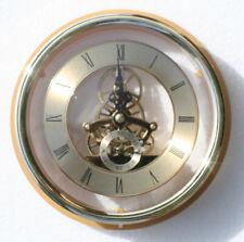 Esqueleto Reloj 149mm diámetro Cuarzo Inserción CON BRIDA, acabado de latón