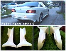 Rear spats for Levin / Trueno AE111, BZR, BZG, BZV, XZ, FZ (1995-2000)