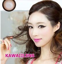 Contact Lenses GEO Color Soft Big Eye Cosplay UV Protection Lens Sakura Brown