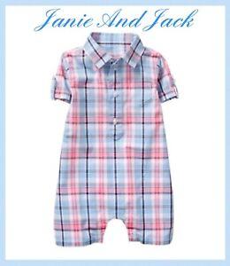 Janie And Jack Baby Boy Romper