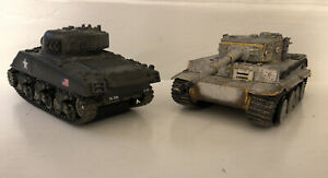 Lot OF 2 Unimax Tanks - Forces of Valor 1:32 Model German Tiger READ DESCRIPTION
