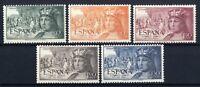 Sellos de España 1952 1111/1115 Fernando el Catolico sellos nuevos ref. 02