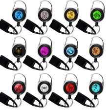 LOT DE 12 FEUZZZ Signes Astrologiques. Porte-clés et porte-bidule* à enrouleur.
