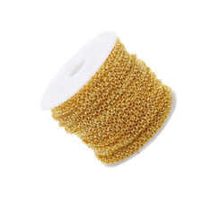 1PC O Shaped Chain Spool Durable Jewelry Making Accessories for Necklace
